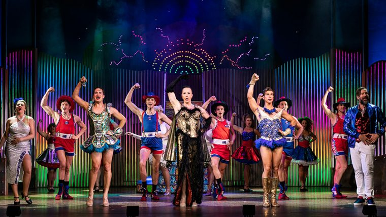 Production shot from Priscilla Queen of the Desert